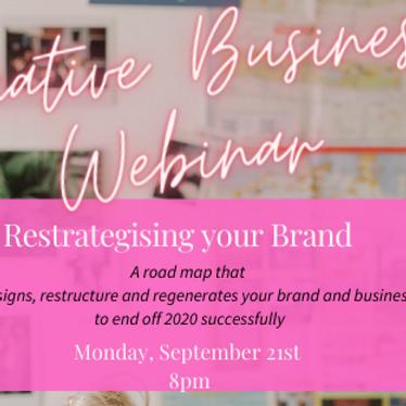 Creative Branding Webinar