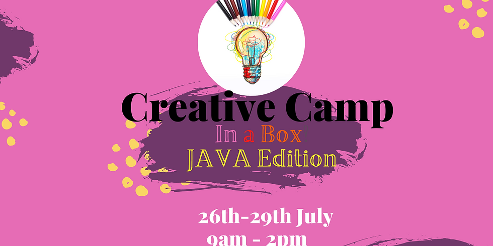 Creative Camp - in a box! JAVA Edition