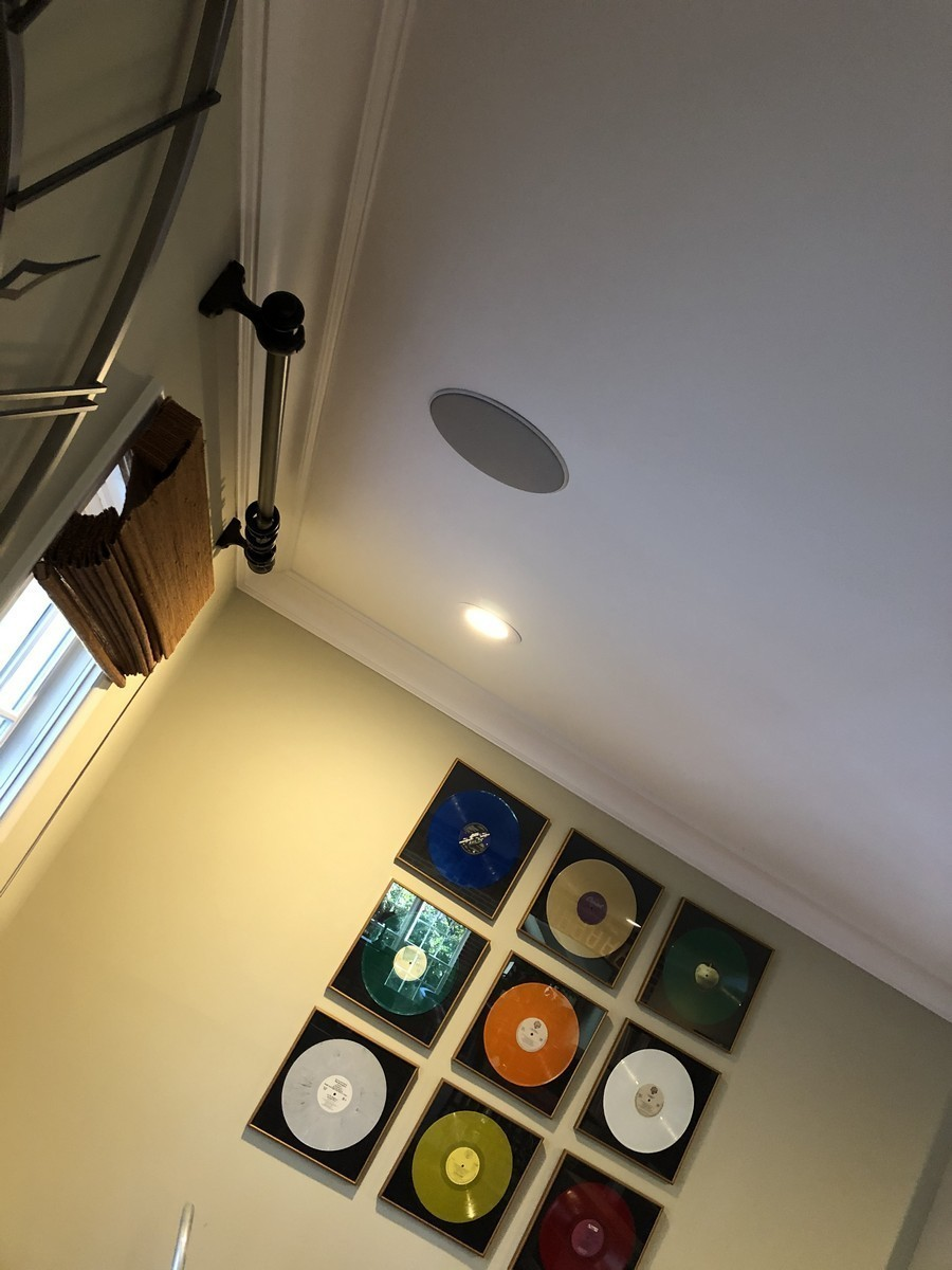recessed speakers