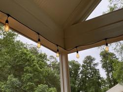 string light installation