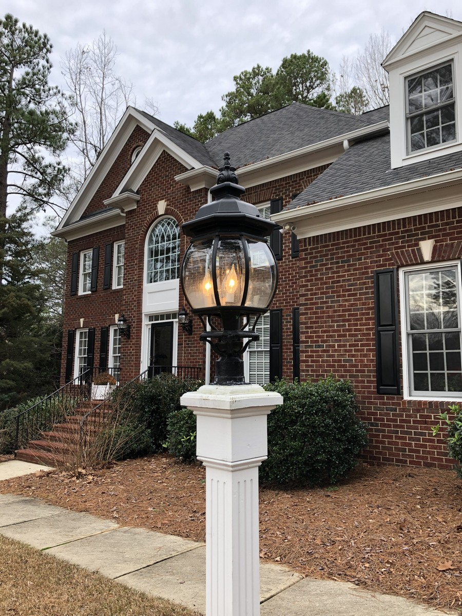 exterior lighting repairs