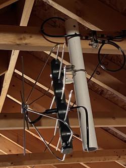 HD antenna in attic
