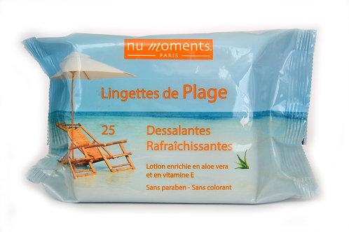 Lingettes de Plage