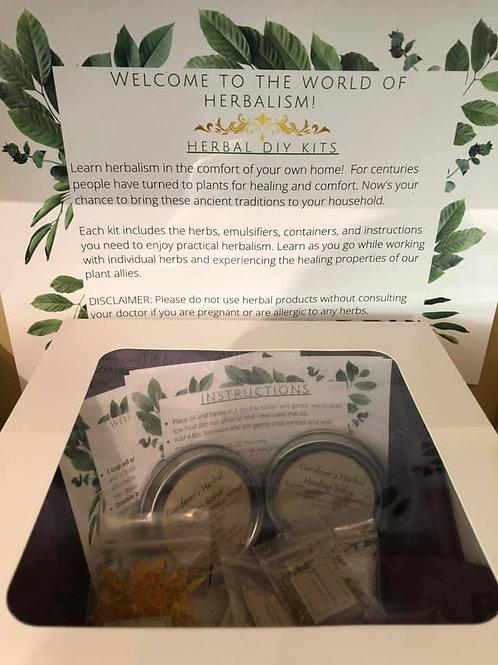 Herbal DIY Kit - Gardener's Hand Salve