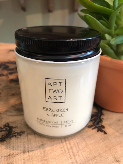 Apartment Two Art: Hand-Poured 100% Soy Wax Candle 8oz