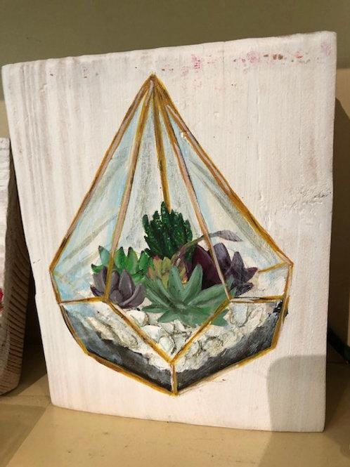Ikaros Art - Succulent Terrarium