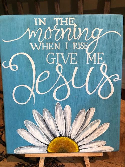 Ikaros Art - Give Me Jesus