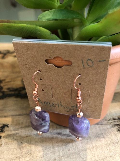 Earrings: Amethyst (3 styles)