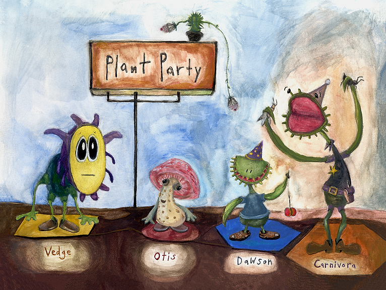Plant Party Color Painting
