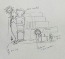 Mushroom Cupcake Sketch (Plant Party)