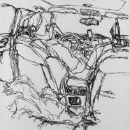 Honda CRV Driving