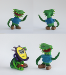 Dawson and Vedge Sculpey (Plant Party)