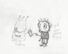 Young Corbit Sketch