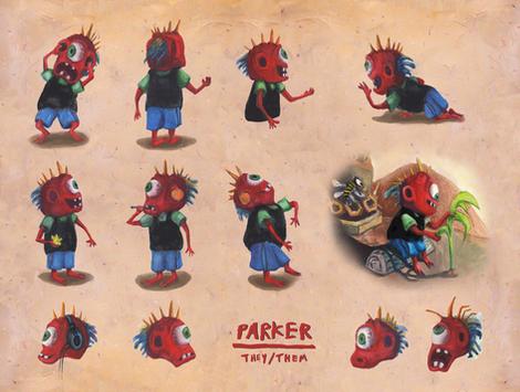 Parker Character Sheet