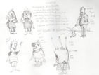 Misc. Character Sketches