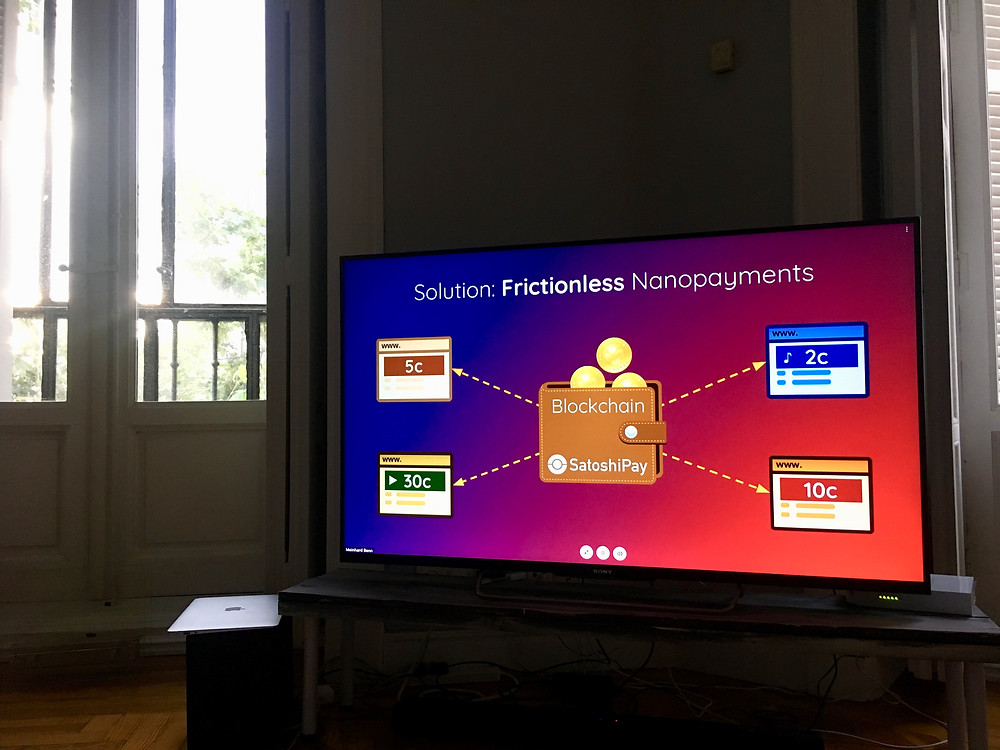 SathoshiPay: Frictionless Nanopayments