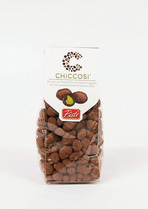 Siciljanska pistacija oblita s temno čokolado 200 g
