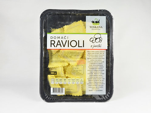 Ravioli z jurčki 300 g