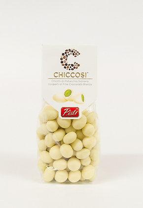 Siciljanska pistacija oblita z belo čokolado 200 g