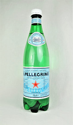 San Pellegrino- gazirana mineralna voda 0,75 l