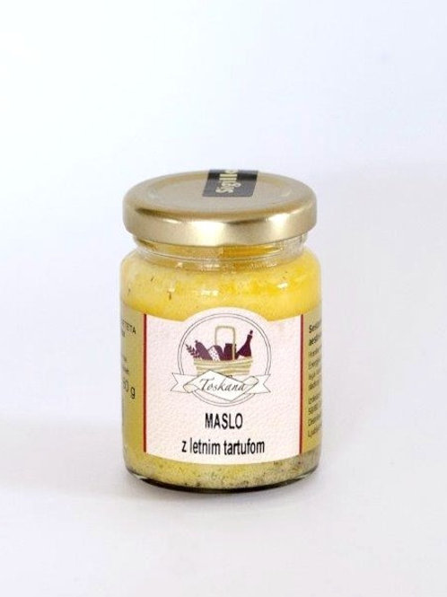 Maslo s črnimi tartufi 80 g