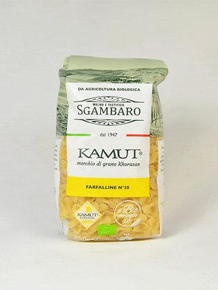 Sgambaro- jušne farfalline iz kamutove moke 250 g