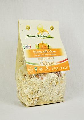 Cascina- rižota z rumeno bučo 250g
