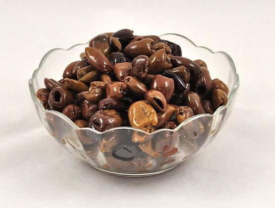 Ligurske olive v ekstra deviškem oljčnem olju