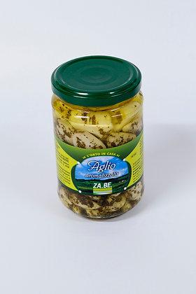 Česen z zelišči v olju 280 g