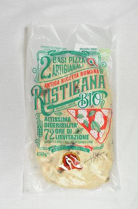 BIO rustikalno testo za pizzo z drožmi 450 g