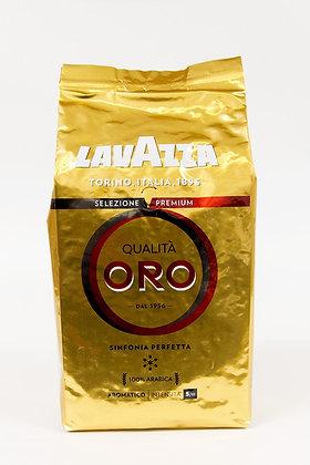 Kava Lavazza zlata 100% arabika v zrnu 1 kg