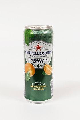 San Pellegrino- gazirana pijača z okusom grenke pomaranče 330 ml