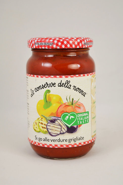 Nonna- omaka z zelenjavo na žaru 350g