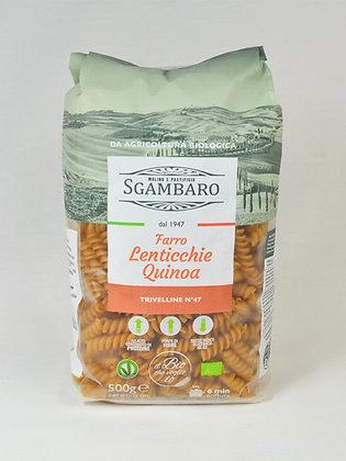 Sgambaro- svedrčki trivelline pira, leča, kvinoja 500 g