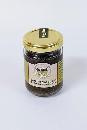 Namaz črnih oliv s tartufi 130 g