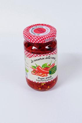 Rezana pekoča paprika v olju 190 g