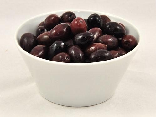 Kalamata grške olive, postrežno