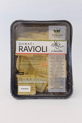 Ravioli z baziliko 500 g
