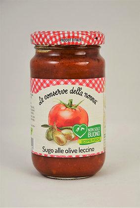 Nonna- paradižnikova omaka z olivami 190g
