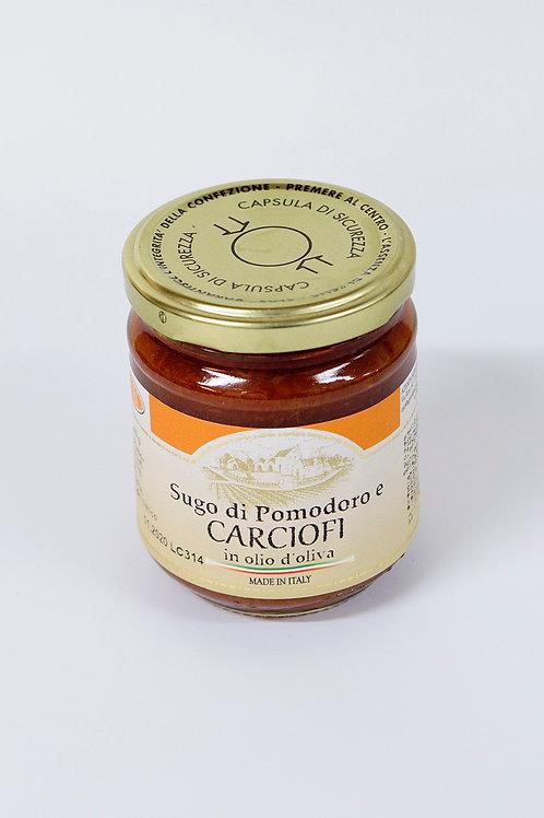 Paradižnikova omaka z artičoko in oljčnim oljem 200 g