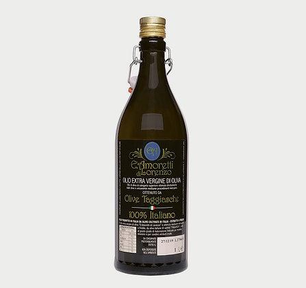 Ekstra deviško oljčno olje iz vrste Taggiasche 750 ml