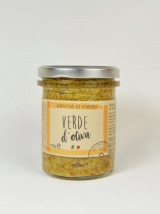 Perche' ci credo- namaz iz zelenih oliv 180 g