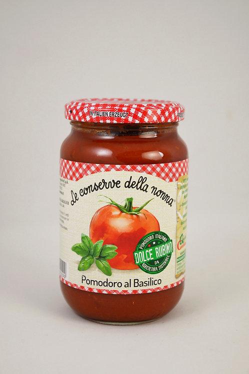 Nonna- paradižnikova omaka z baziliko 350g