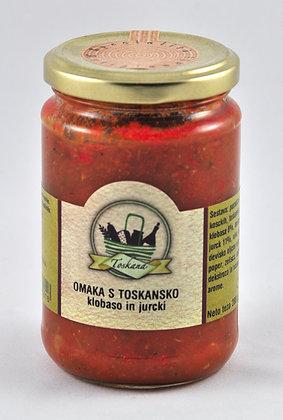 Boscovivo- omaka s toskansko klobaso in jurčki 180g