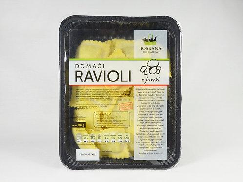 Ravioli z jurčki 500 g