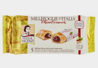pecivo Millefoglie z lešnikovo kremo 125 g