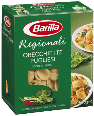 Barilla Regionali- ušesca 500g