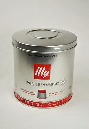 Kava Illy v kapsulah rdeča 140,7 g