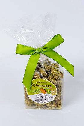 Karamelizirani mandlji in pistacija 150 g