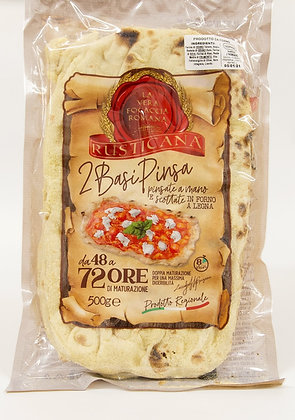 Pinsa rustikana- rustikalno testo za pizzo z drožmi 500 g
